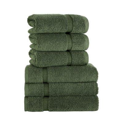Agathon Hand Towel Color: Green