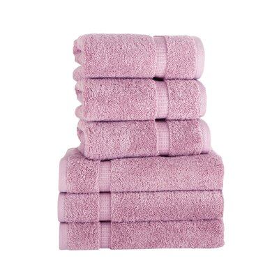 Agathon Hand Towel Color: Rose