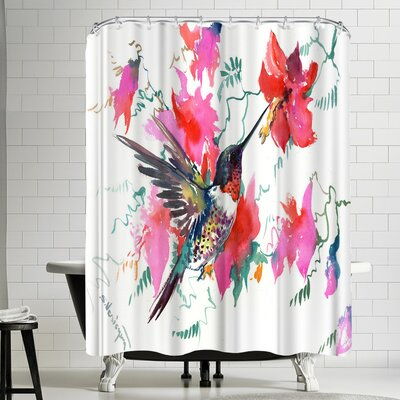 Suren Nersisyan Hummingbird Tropical Shower Curtain