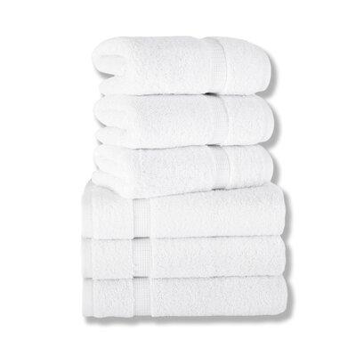 Agathon Hand Towel Color: White