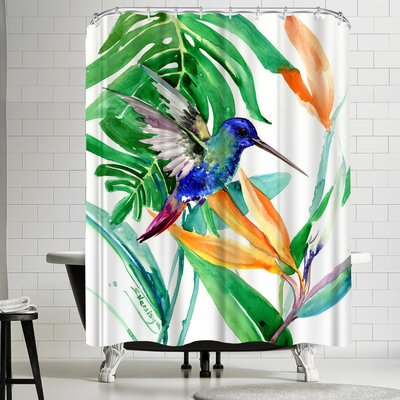 Suren Nersisyan Hummingbird Shower Curtain
