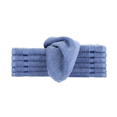 Agathon Washcloth Color: Blue