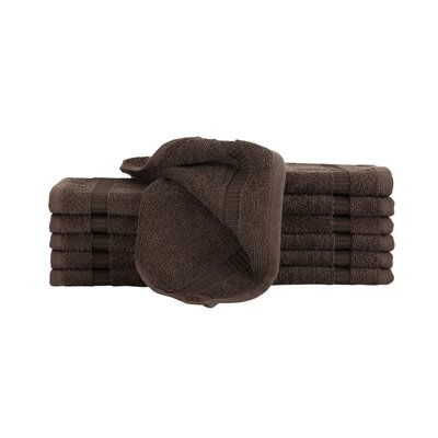 Agathon Washcloth Color: Chocolate