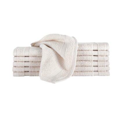 Agathon Washcloth Color: Ivory