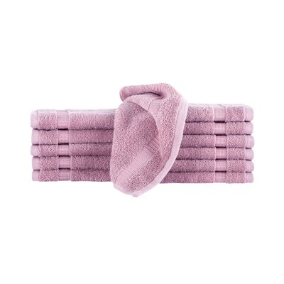 Agathon Washcloth Color: Rose