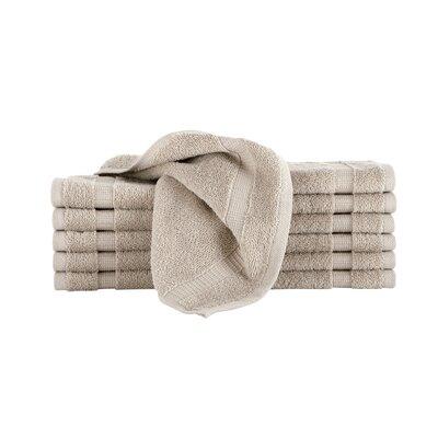 Agathon Washcloth Color: Taupe