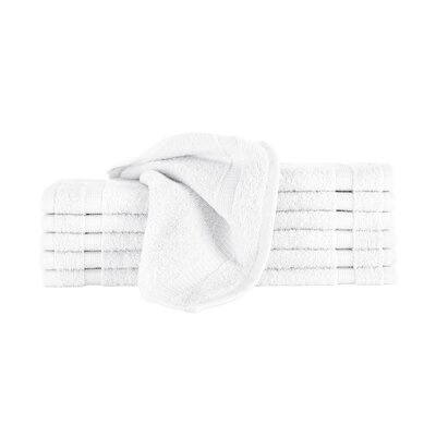 Agathon Washcloth Color: White