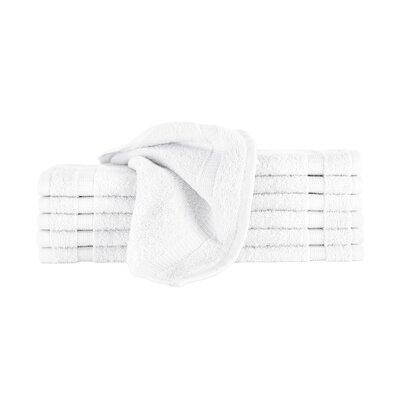 Agathon Washcloth Color: White