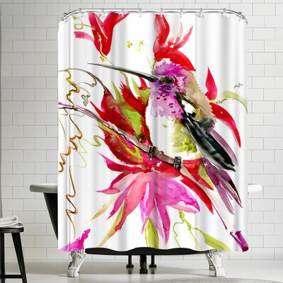 Suren Nersisyan Hummingbird III Shower Curtain