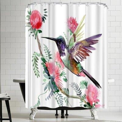 Suren Nersisyan Hummingbird IIII Shower Curtain