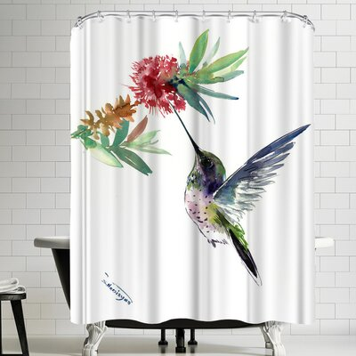 Suren Nersisyan Hummingbird VII Shower Curtain