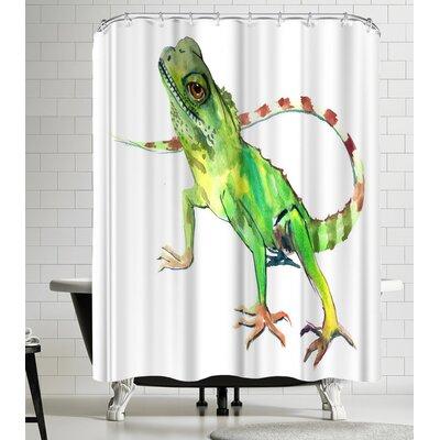 Suren Nersisyan Lizard Shower Curtain