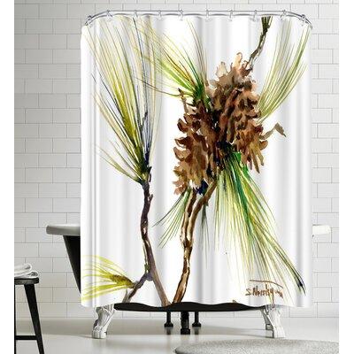 Suren Nersisyan Long Leaf Pine Bough I Shower Curtain