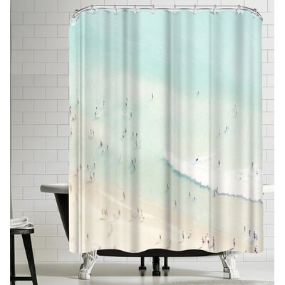 Beach Love III Shower Curtain
