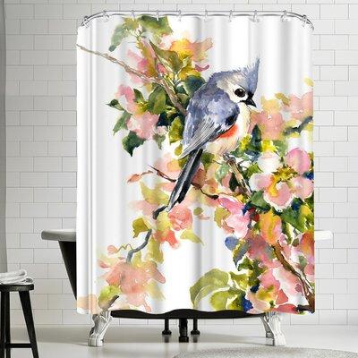 Suren Nersisyan Titmouse II Shower Curtain