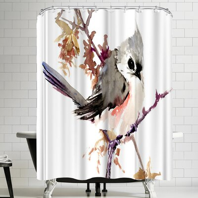 Suren Nersisyan Titmouse IIII Shower Curtain