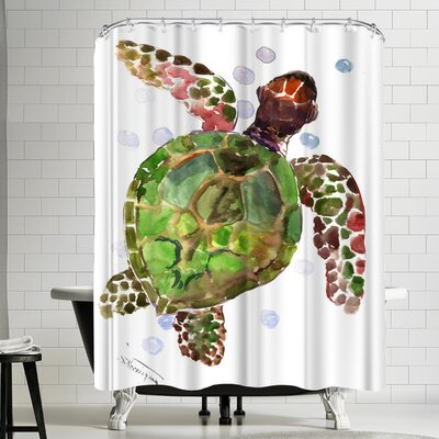 Suren Nersisyan Turtle I Shower Curtain