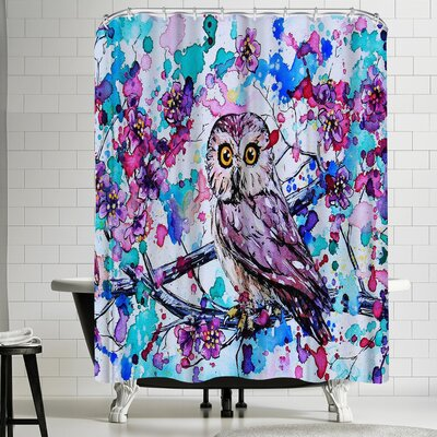 Eve Izzett Little Owls I Shower Curtain