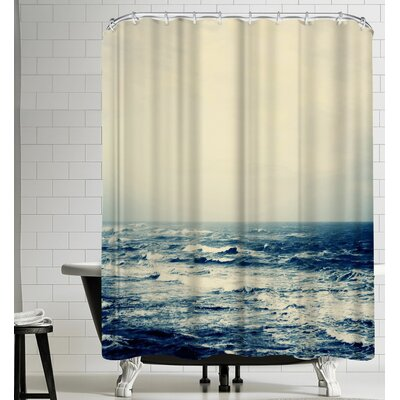 The Sea Copy Shower Curtain