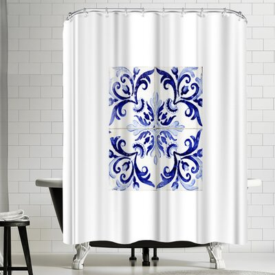 Azulejo II Shower Curtain