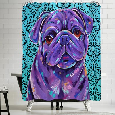 Eve Izzett Boof Shower Curtain