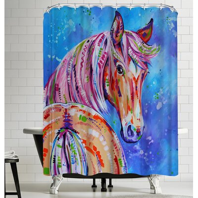 Eve Izzett Cinnamon Shower Curtain