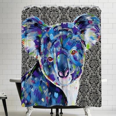 Eve Izzett Cuthbert Shower Curtain