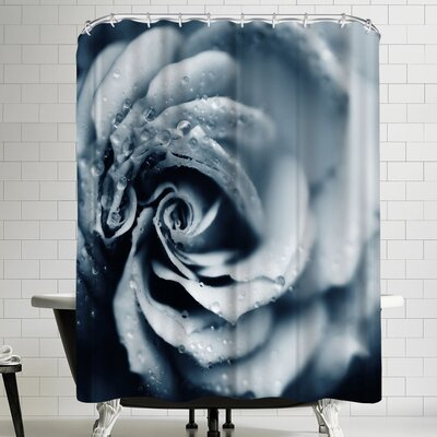 Powder Blue Shower Curtain