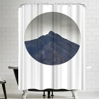 Annie Bailey Climb Mountains Shower Curtain