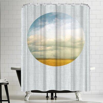Annie Bailey Cloud Cover Shower Curtain