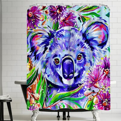 Eve Izzett Koala Shower Curtain