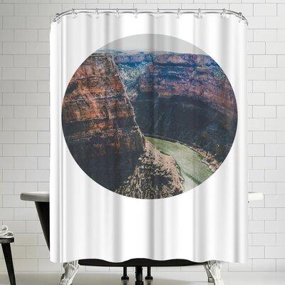 Annie Bailey Devils Canyon Shower Curtain