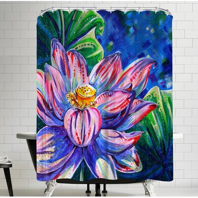 Eve Izzett Lotus Shower Curtain