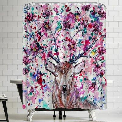 Eve Izzett Magnolia Shower Curtain