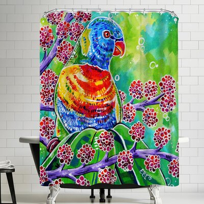 Eve Izzett Tweety Shower Curtain