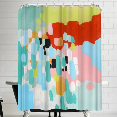 Annie Bailey Driving In The Country Shower Curtain