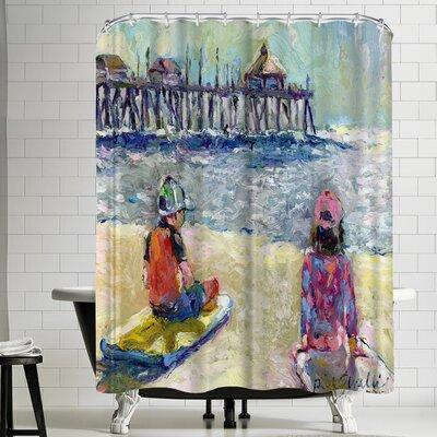 Richard Wallich Baileyand Logan Shower Curtain
