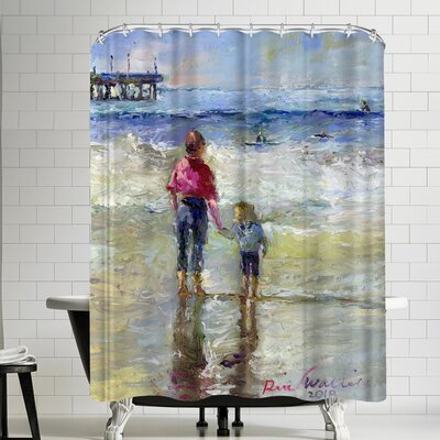 Richard Wallich Sisters Shower Curtain