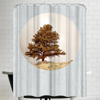 Annie Bailey Hillside Morning Shower Curtain
