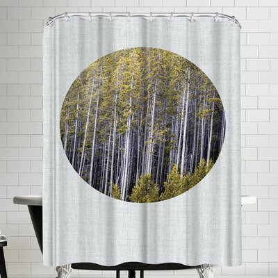Annie Bailey Into The Forest Shower Curtain