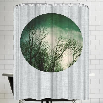 Annie Bailey Leafless Shower Curtain