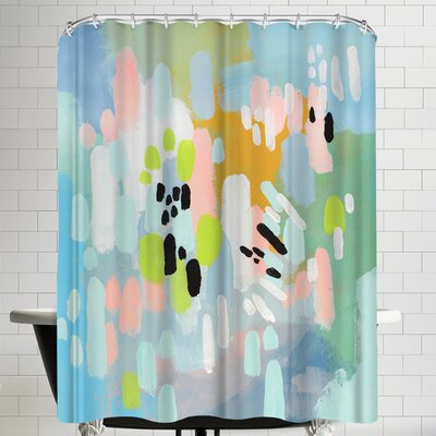 Annie Bailey Lifted Spirits Shower Curtain