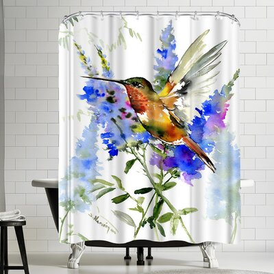 Suren Nersisyan Alens Hummingbird Shower Curtain