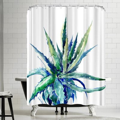 Suren Nersisyan Aloe Shower Curtain