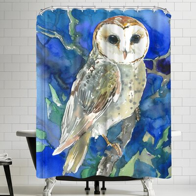 Suren Nersisyan Barn Owl Shower Curtain