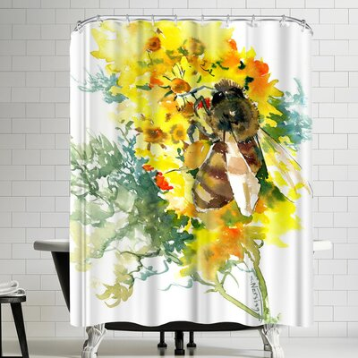 Suren Nersisyan Bee Shower Curtain