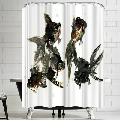 Suren Nersisyan Black Moor Feng Shui Shower Curtain