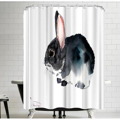 Suren Nersisyan Bunny Shower Curtain