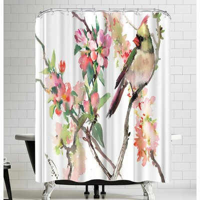 Suren Nersisyan Cardinal Shower Curtain