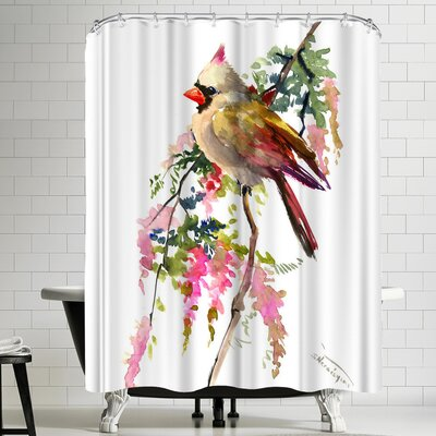 Suren Nersisyan Cardinal II Shower Curtain